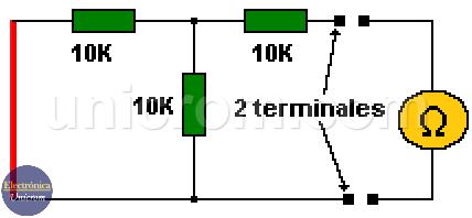 Teorema de Thevenin - Obtener la resistencia