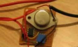 Regulador de corriente para LED con amplificador Operacional