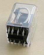 Relé - relay de propósito general, 60 hz 110 volt, contactos DPDT, 25A a 300V AC - Electrónica Unicrom