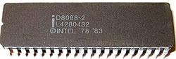 Microprocesador Interl 8088 - Electrónica Unicrom