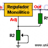 LM317 - Regulador de voltaje variable