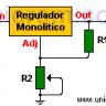 LM317 - Regulador de voltaje variable