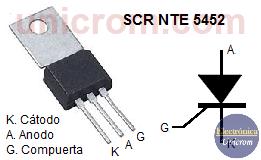 SCR NTE 5452