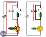 ¿Por qué poner un diodo en paralelo con un relé?
