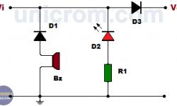 Alarma de polaridad invertida (circuito)
