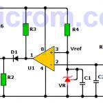 Alarma caída de voltaje con LM393 y TL431