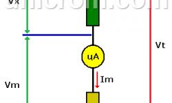¿Cómo ampliar el rango de un voltímetro analógico?