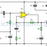 Amplificador de audio con TDA2040