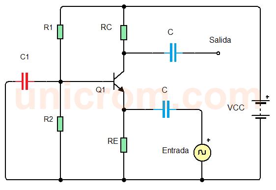 Amplificador de base común