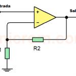 Seguidor de voltaje (Buffer) con Amp. Op.