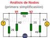 Análisis de Nodos en Circuitos Resistivos