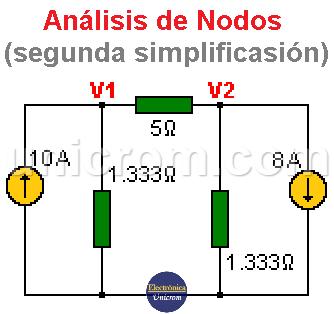 Simplificación del circuito - Resistencias en paralelo
