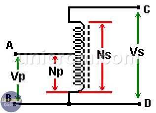 Autotransformador elevador