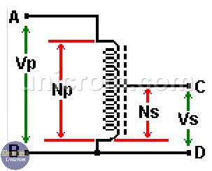 Autotransformador reductor