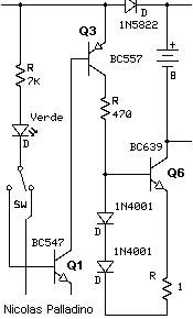 Características cargador de batería para bicicleta