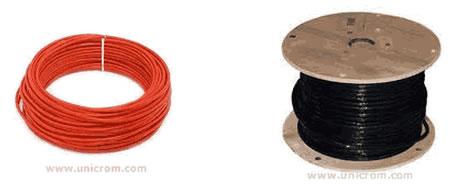 Cables y Alambres eléctricoa