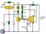 Cargador de batería 12V con amplificador operacional