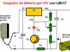 Cargador de Batería gel 12 V con LM317