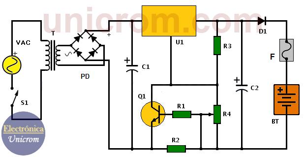 Cargador de batería de plomo de 24V
