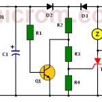 Circuito de alarma de fallo de energía (corte de corriente)