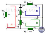 ¿Cómo hacer análisis de mallas en circuitos resistivos?