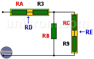 Resistencias en serie y paralelo - Circuitos Mixtos