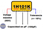 Código de condensadores – Código JIS
