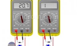 ¿Cómo probar diodos y transistores?