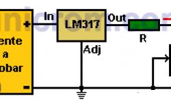 Cómo Probar una Fuente de Voltaje usando LM317