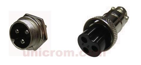 Conectores de cable para micrófono