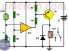 Conmutador activado por luz con Amplificador Operacional