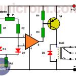 Control por diferencia de temperatura (circuito impreso)