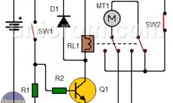 Control reversible para motor DC - Control de giro para motor DC