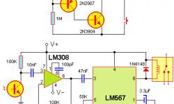 Control remoto por infrarrojo