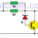 Reductor 12VDC – 9VDC (circuito impreso)