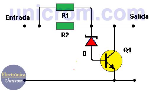 Reductor 12VDC - 9VDC