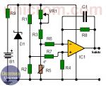 Convertidor temperatura – voltaje con termistor (circuito impreso)