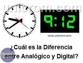 ¿Cuál es la Diferencia entre Analógico y Digital?