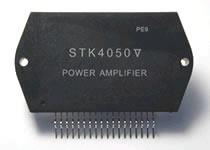 Circuito Integrado híbrido STK4050 de Sanyo