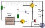 ¿Cómo hacer un Detector de Lluvia con dos Transistores? (alarma)