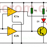Circuito detector de ventana con LM339