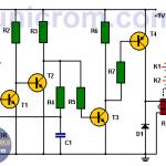 Detector de luz transistorizado
