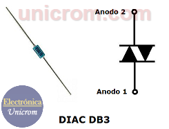 DIAC – Diodo de disparo bidireccional