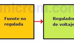 Fuente de voltaje variable con 7805 (7 a 30V)