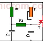 Dimmer / Control de velocidad de motor AC con triac