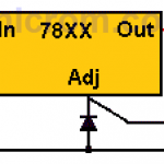 Elevar voltaje de salida en reguladores 78XX