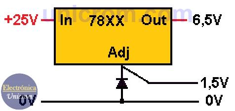 Como elevar voltaje en reguladores 78XX (4)