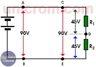 Energía eléctrica y calor - Estufa que tiene dos resistencias iguales