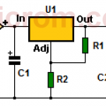 Fuente de 12 voltios con regulador 7805