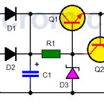 Fuente de 12VDC con zener y transistores